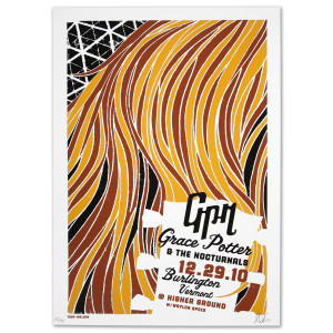 Grace Potter & The Nocturnals Higher Ground Ballroom Poster