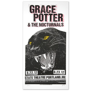GPN -  8/22/2012 &  8/23/2012 State Theater Portland, ME. Print