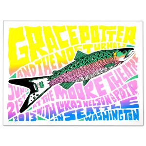 GPN - Seattle WA June 21st 2013 Show Print