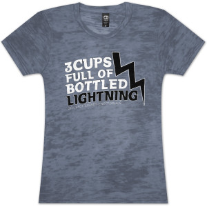Grace Potter & The Nocturnals Lightning Girlie T-Shirt