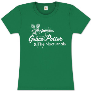 Grace Potter & The Nocturnals Vermont Girlie T-Shirt