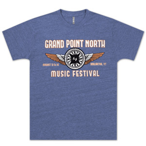 Grace Potter & The Nocturnals 2012 Grand Point North Festival T-Shirt