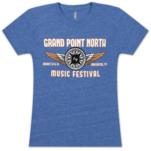 Grace Potter & The Nocturnals 2012 Grand Point North Festival Women's T-Shirt