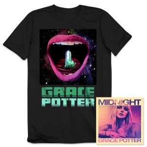 Grace Potter - Midnight CD/T-Shirt Bundle