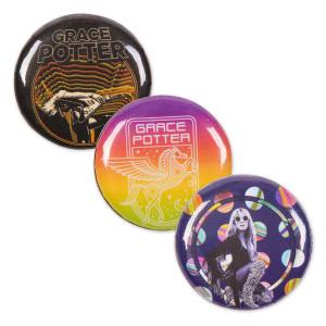 Grace Potter Buttons (3-pack)