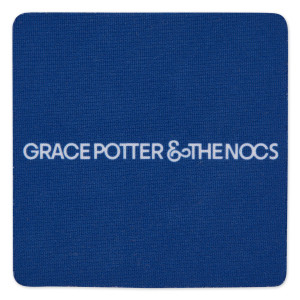 Grace Potter & The Nocturnals Blue Square Coasters