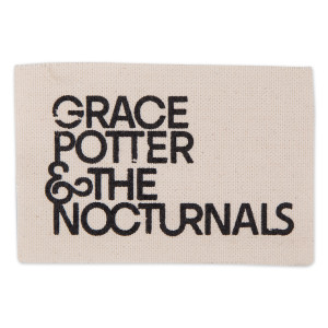 Grace Potter & The Nocturnals Rectangular Logo Patch
