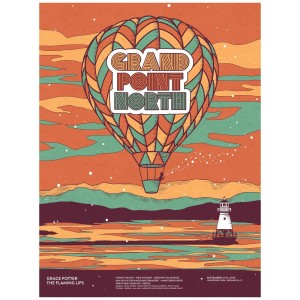 Grand Point North 2015 Balloon Poster
