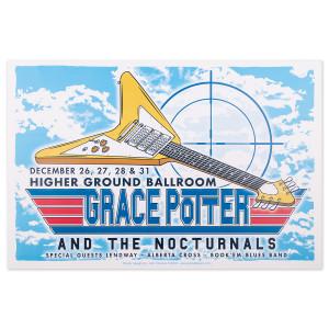 Higher Ground Flying V Poster