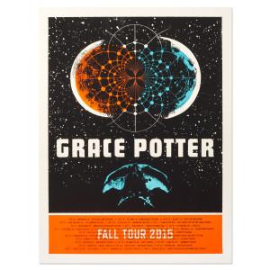 Grace Potter Fall Tour 2015 Poster