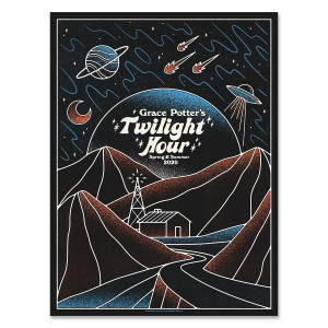 Monday Night Twilight Hour Poster