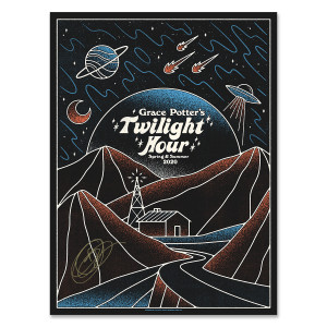 Grace Potter's Monday Night Twilight Hour Poster - signed by Grace
