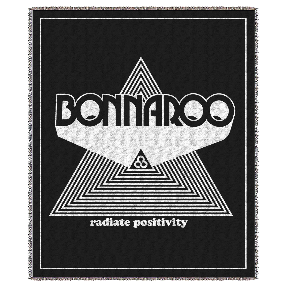 Radiate Positivity Woven Blanket