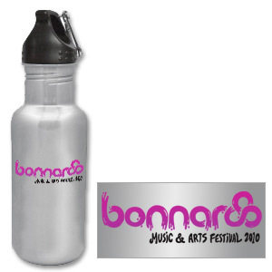 2010 Bonnaroo Water Bottle