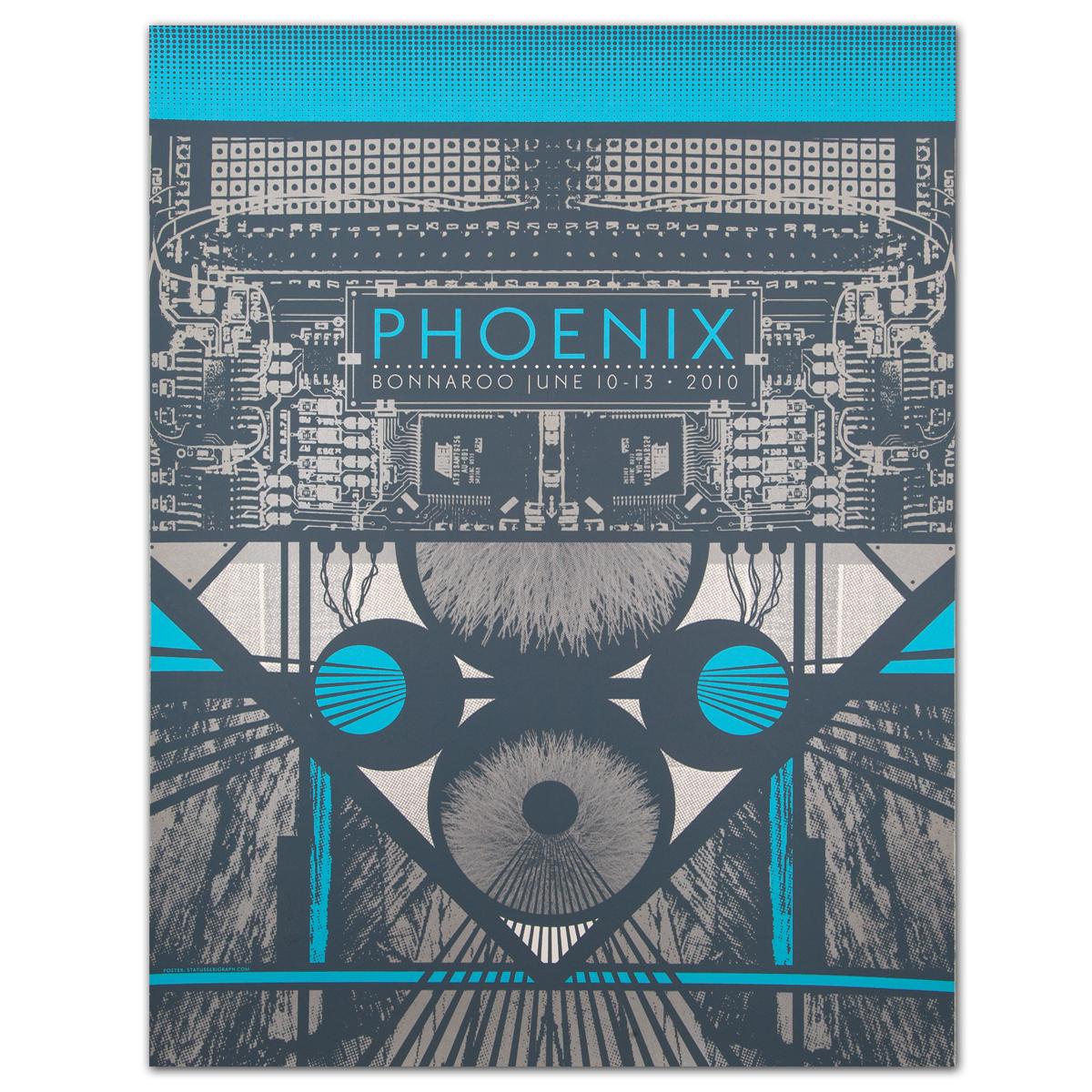 Bonnaroo 2010 Phoenix Poster