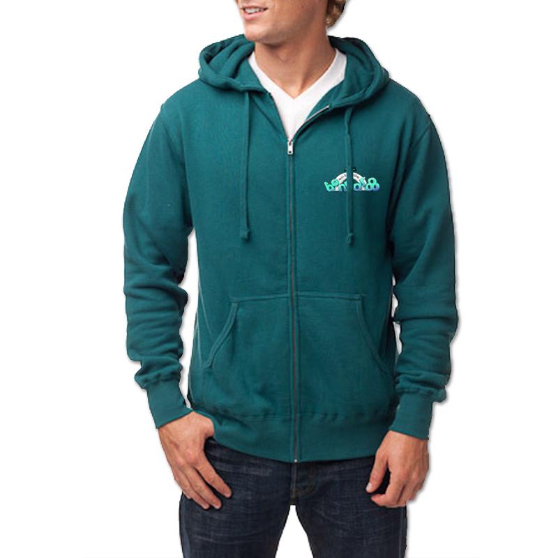 Bonnaroo 2012 Men's Logo Zip Hoodie