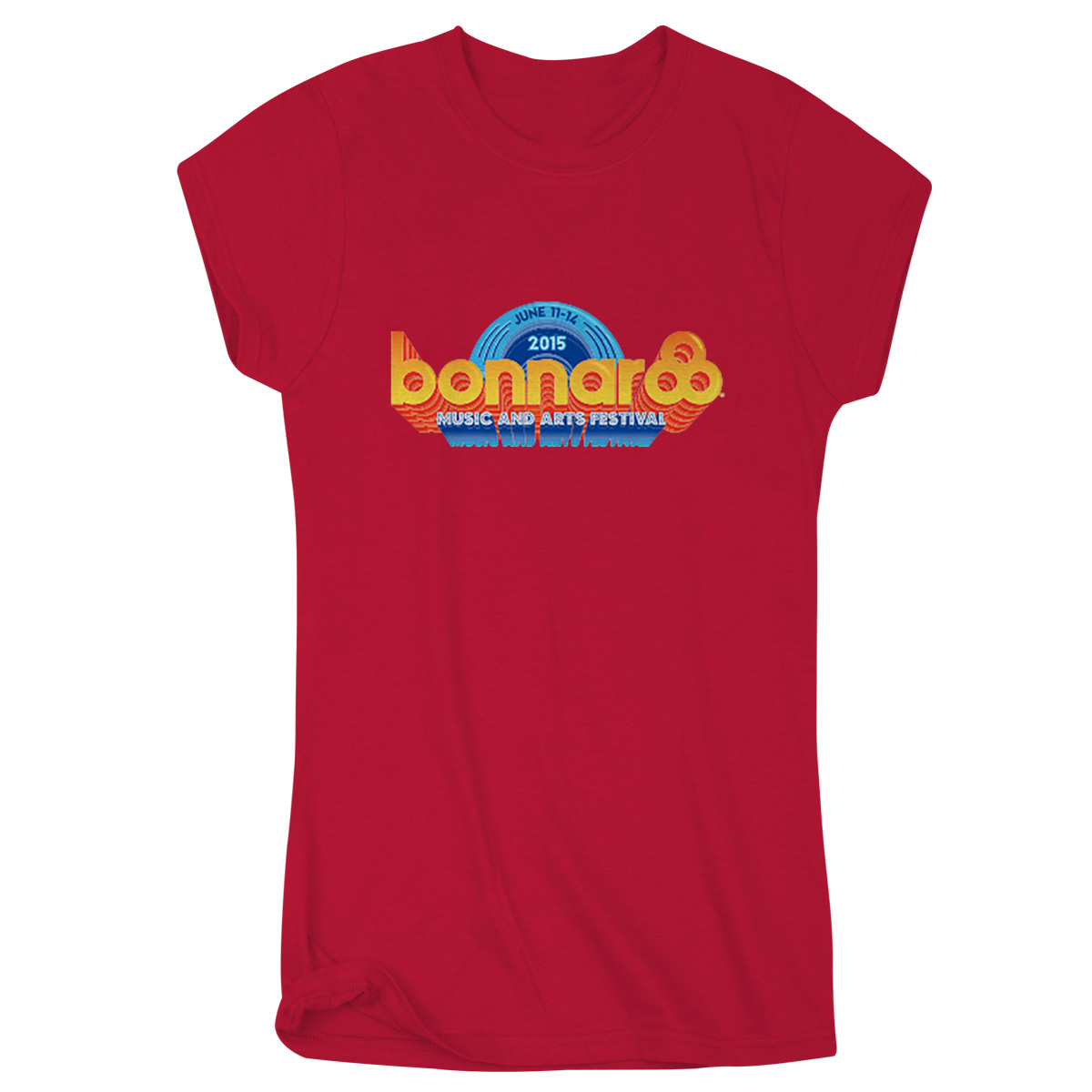 Bonnaroo 2015 Women's Main Event T-Shirt