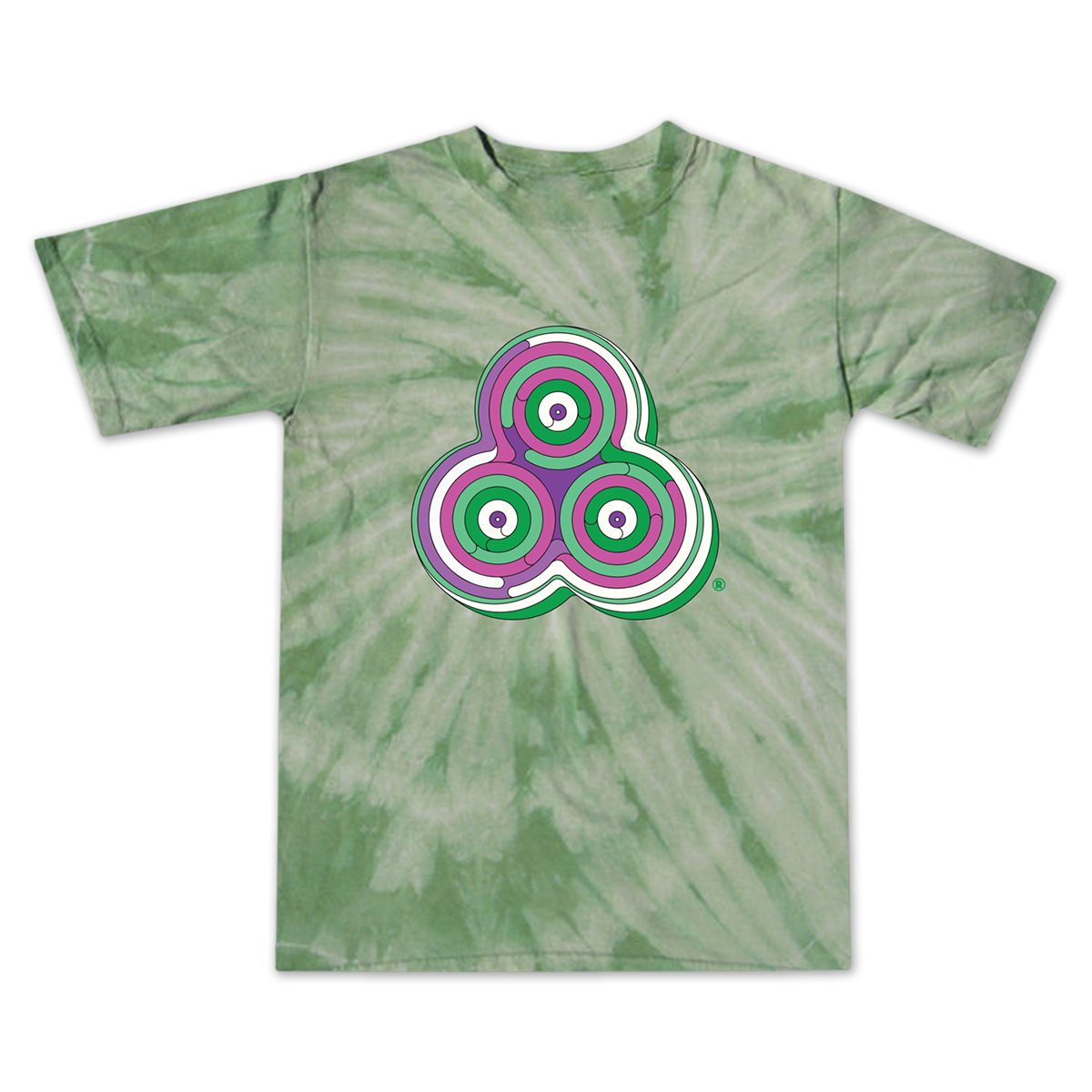 Bonnaroo 2016 Rings Tie-Dye T-Shirt