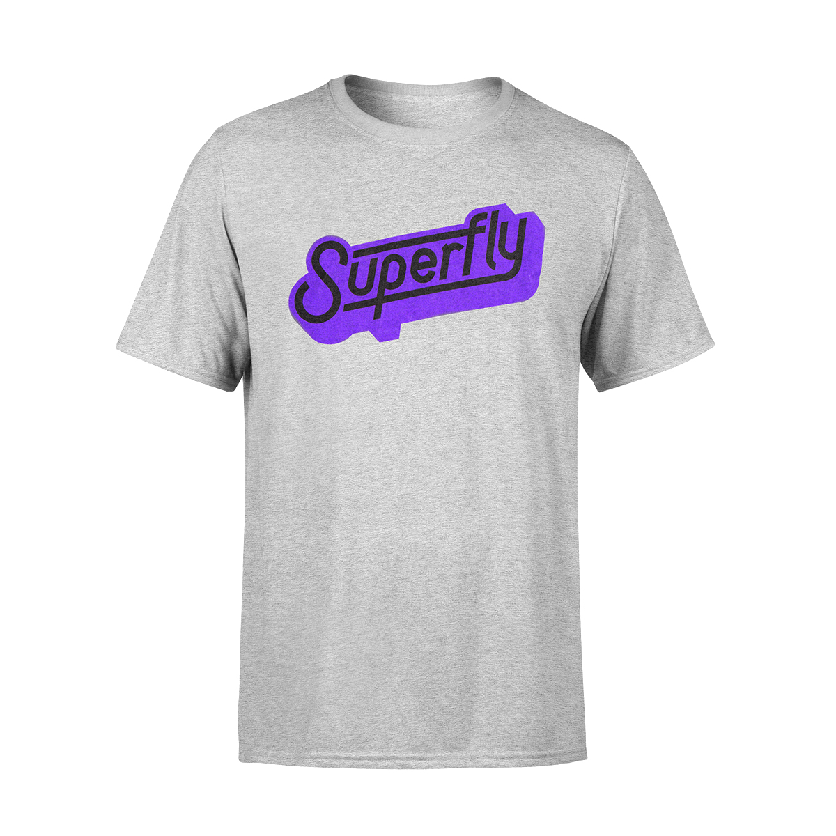 Superfly Logo Grey T-Shirt