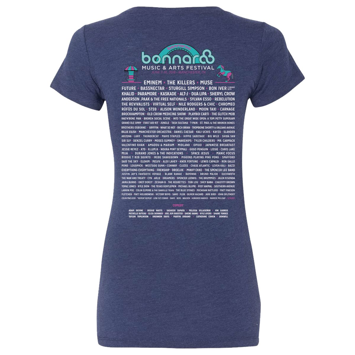 2018 Ladies Beacon Event Tee