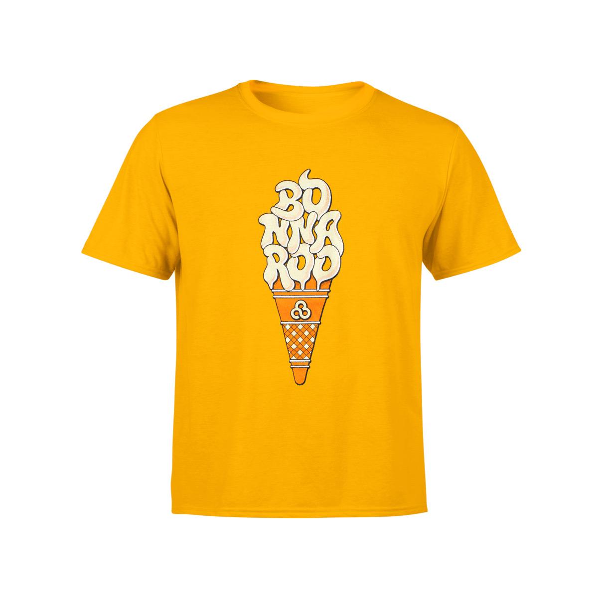 Ice Cream Kid's Tee - Gold