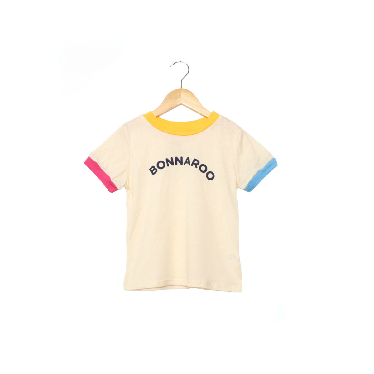 CAMP COLLECTION - Toddler Rainbow Ringer Tee