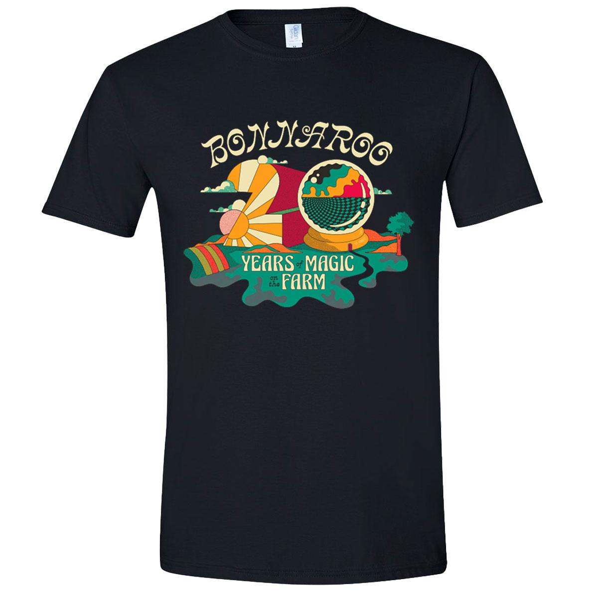 Bonnaroo 2021 Twenty Years of Magic Event Tee