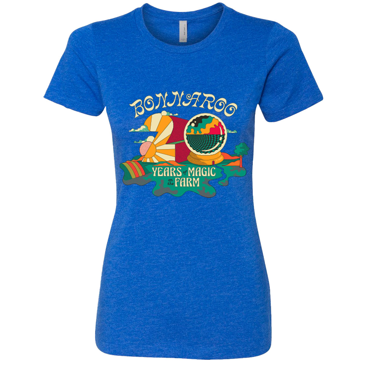 Bonnaroo 2021 Twenty Years of Magic Ladies Event Tee