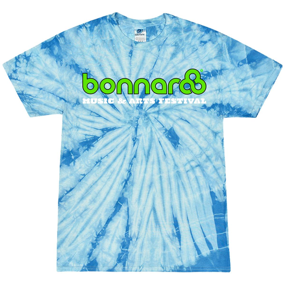 Bonnaroo 2021 Baby Blue Event Tie Dye