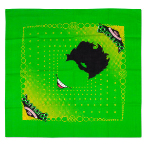 Bonnaroo 2014 Green Bandana