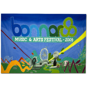 Bonnaroo 2009 Event Logo Sarong