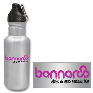 2010 Bonnaroo Water Bottle