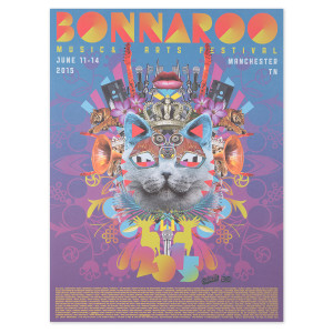 Bonnaroo Music & Arts Festival, June 11-14, 2015 Cat