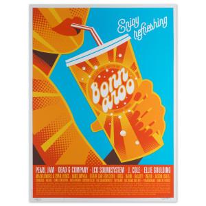 Bonnaroo 2016 Dan Stiles Poster