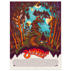 James Flames Poster