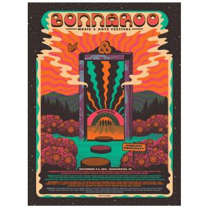 Bonnaroo 2021 Poster by Status Serigraph