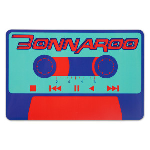 Bonnaroo 2013 Cassette Sticker