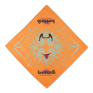Bonnaroo 2015 Orange Festival Bandana