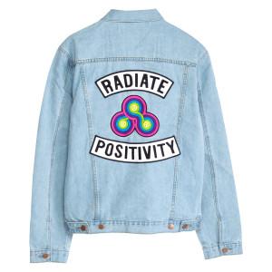 Bonnaroo 2017 Radiate Positivity Denim Jacket