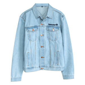 Bonnaroo 2017 Radiate Positivity Denim Jacket