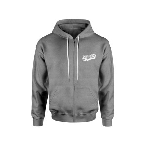 Superfly Grey Zip Up Hoodie