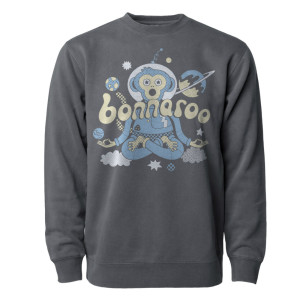 SPACE MONKEY CREWNECK SWEATSHIRT