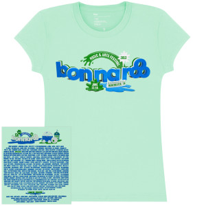Bonnaroo 2013 Womens Main Event Tshirt