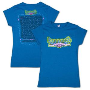 Bonnaroo 2014 Women's Sapphire Main Event T-Shirt