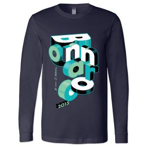 Bonnaroo 2015 Stacked Long Sleeve T-Shirt