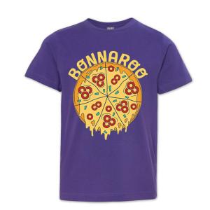 Bonnaroo 2016 Youth Pizza T-Shirt - Purple