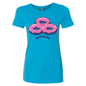 Bonnaroo 2017 Ladies Donut Tee