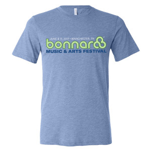 Bonnaroo 2017 Main Event Logo Tee