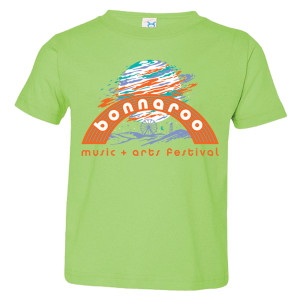 Bonnaroo 2017 Moon Youth Tee - Lime