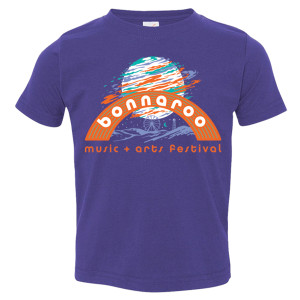Bonnaroo 2017 Moon Youth Tee - Purple